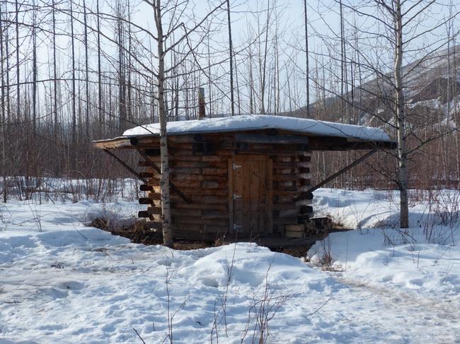 Sauna in Alaska