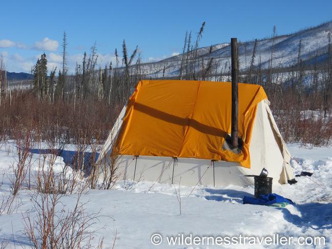 Snowtrekker canvas tent