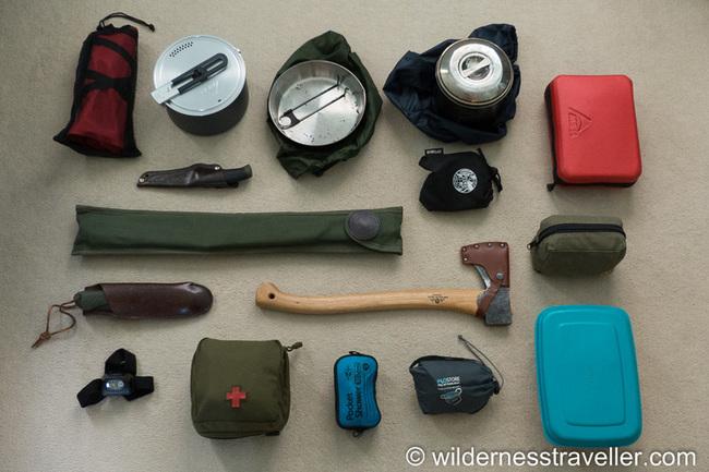 Canoe camping gear