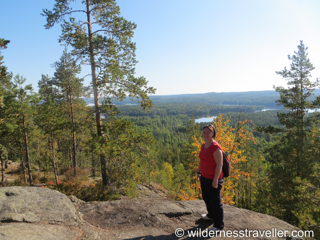Stood at the top of Neitvuori