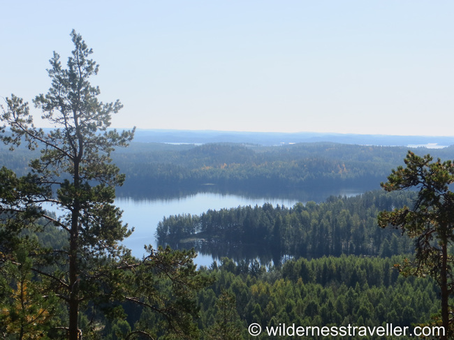View from the top of Neitvuori