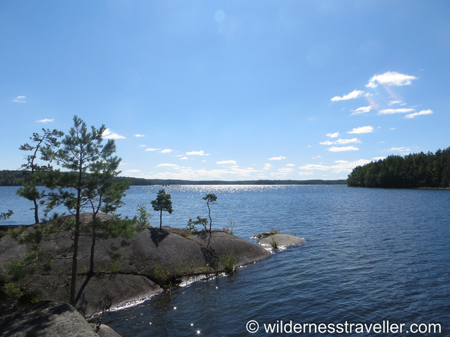 Jaantarsaari in Lake Saimaa