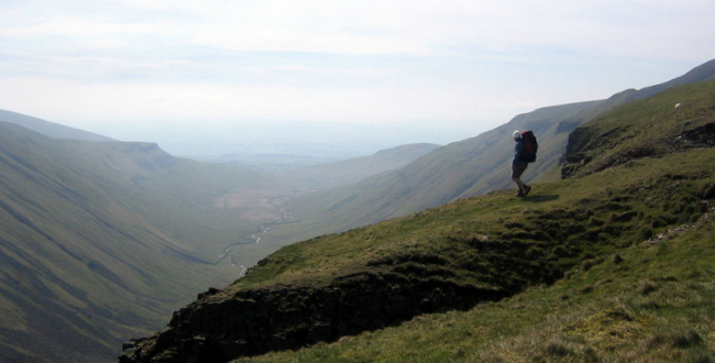 High Cup on the Pennine Way