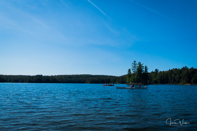 Canoeing on Hambone Lake