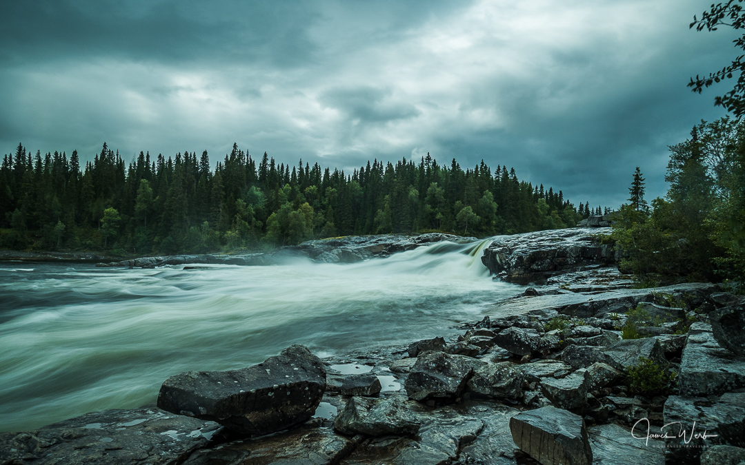 Tegefors Waterfall